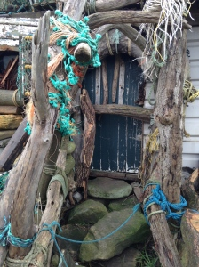 Beach shack, Port Mulgrave, Staithes, Jules Brown