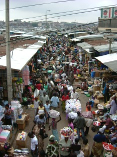 Just one 'street' in Kumasi market