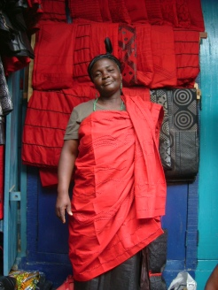 Cloth seller