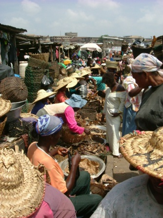 Straw hats and baskets