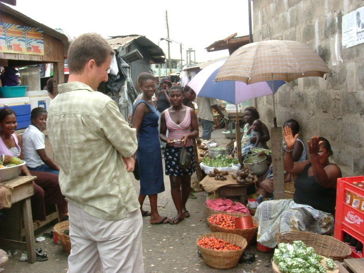 Takoradi market, Ghana, West Africa, Jules Brown