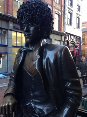 Phil Lynott, of Thin Lizzy