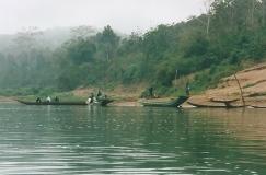 River scene, Laos