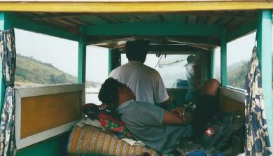 Full steam ahead, Mekong river