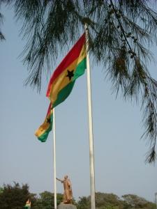 Ghana flag, Accra
