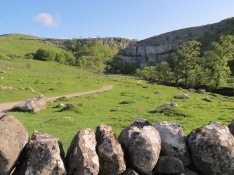 The path out to Malham Cove