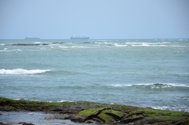 Oil tankers off Takoradi