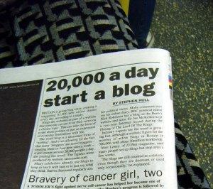 Britain Going Blog Crazy, Annie Mole