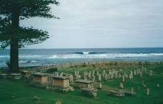 The convict cemetery
