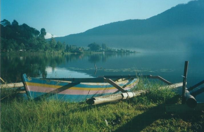 View over Lake Bratan