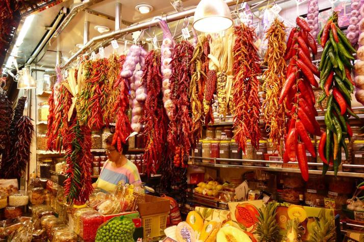 Spices shop, marimbajlamesa