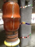 Ceramic pillars