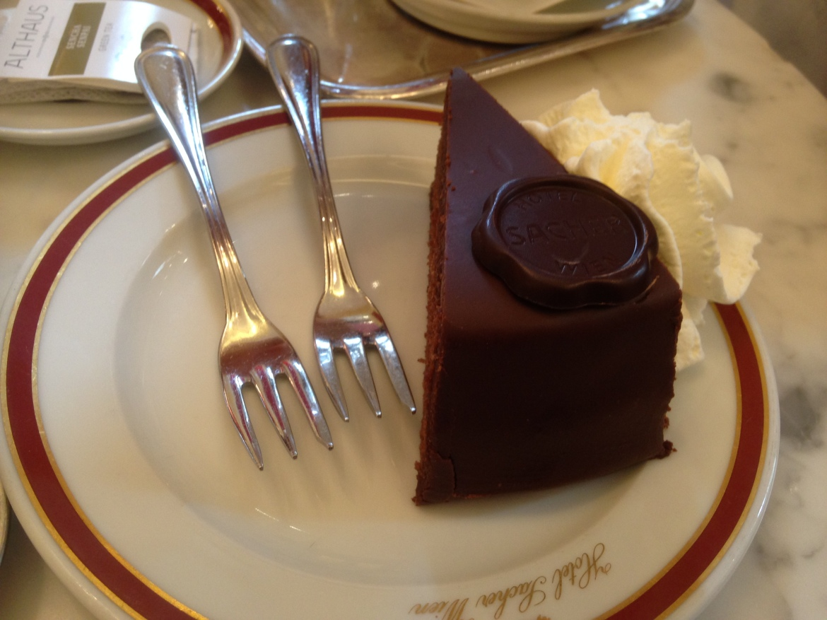 Sachertorte in Vienna – best cake in the world?