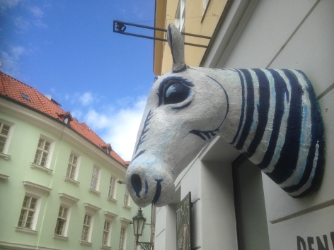 Horsehead sculpture, Prague