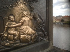 Detail, Charles Bridge, Prague