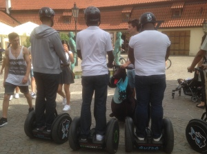 Segways in Prague