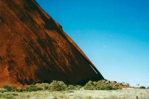 Sun rise at Uluru, Jules Told Me