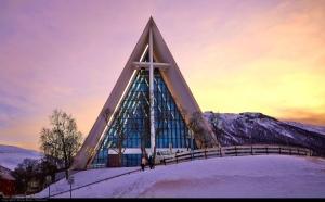 Tromso Arctic Cathedral, Moyan Brenn