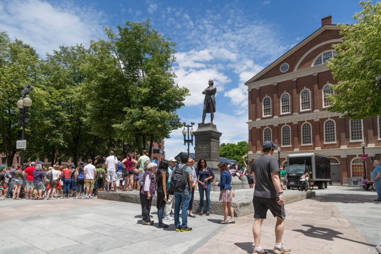 Samuel Adams, Faneuil Hall, Massachussetts Office of Tourism