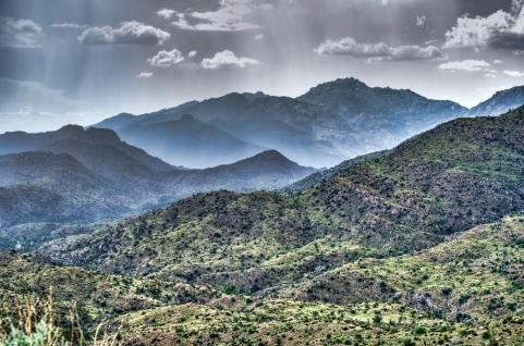 Dersert mountain rain, Doug Aghassi