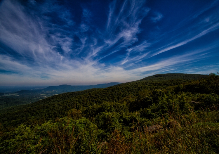 Looking North, Skyline Drive, Jim Lukach