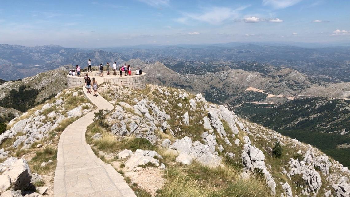 Summit Mount Jezerski Montenegro