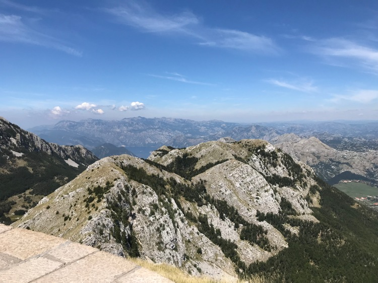 View from Mount Jezerski Montenegro